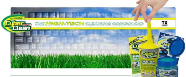 CYBER CLEAN pulizia tastiere notebook e pc