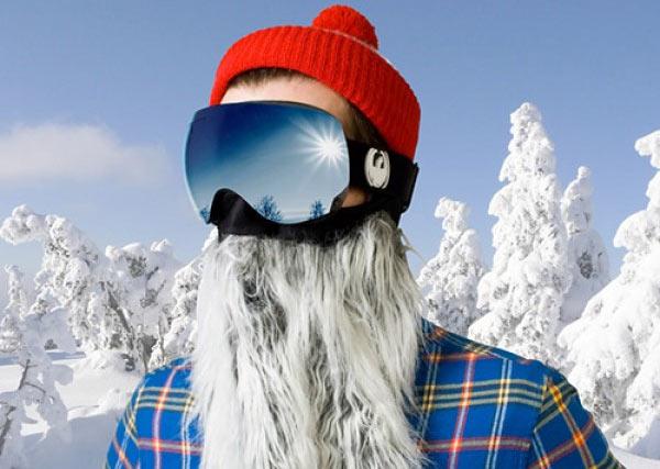 Barba Vikinga ripara dal freddo