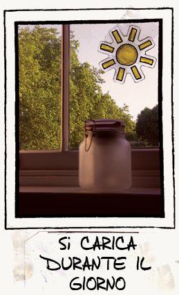 vaso solare giorno