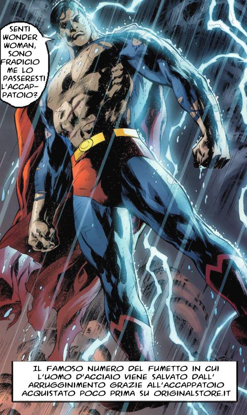 accappatoio superman