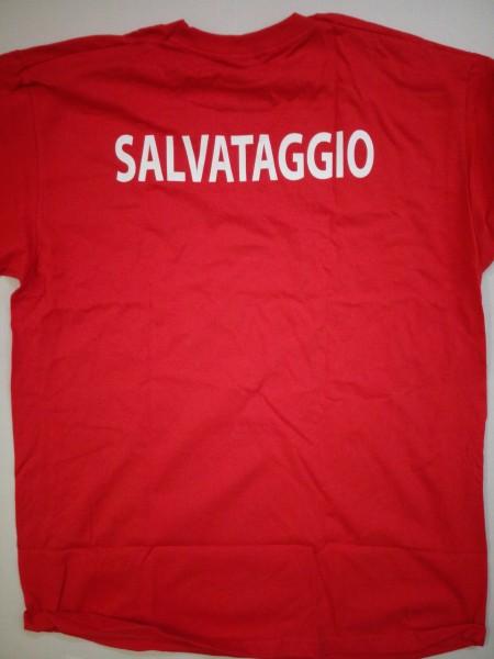 Maglietta T-Shirt Salvataggio Lifeguard Italia 1€